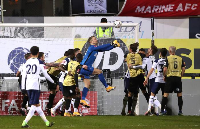 Joe Hart dari Tottenham Hotspur