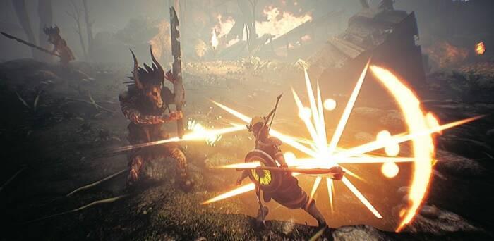 Tampilan game Diwar: The Legend of Dragon Slayer