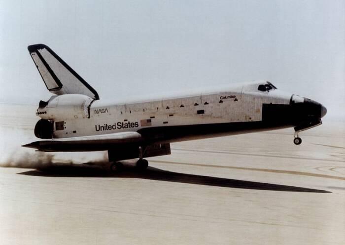 Pesawat Ulang alik Columbia.