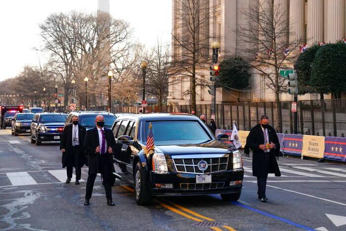 Cadillac One yang dikenal The Beast