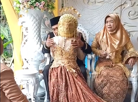 video viral, viral, pengantin