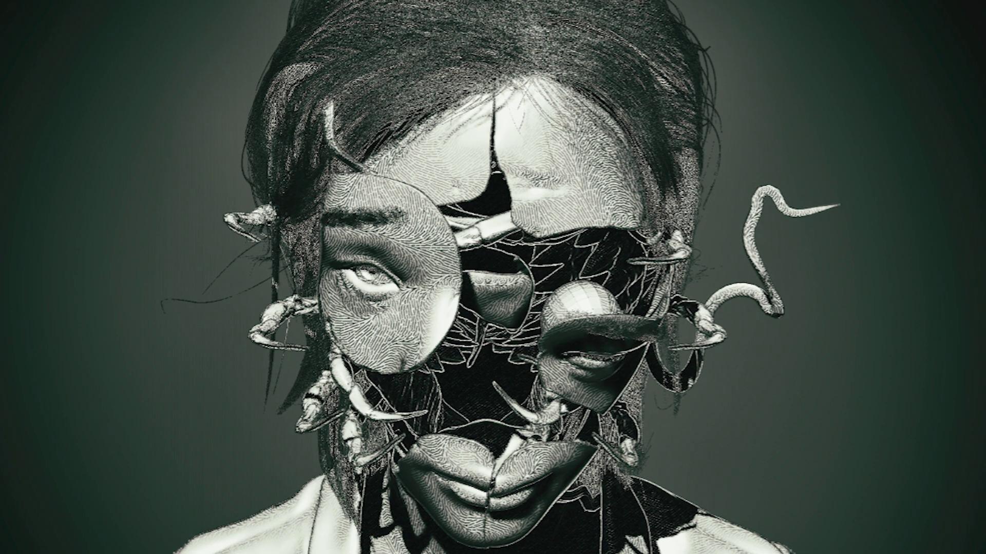 Concept art game buatan Keiichiro Toyama
