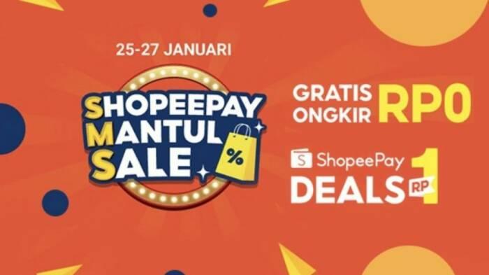 Promo ShopeePay Mantul Sale