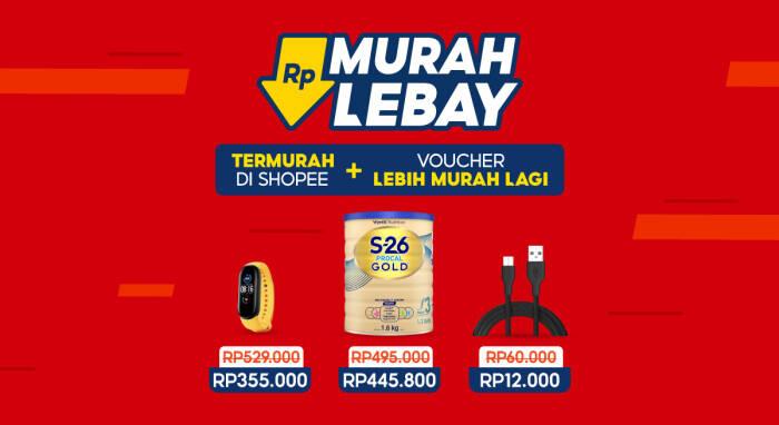 Promo Shopee Murah Lebay